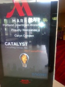 Marriott and Catalyst